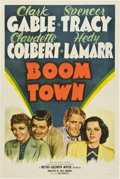 """Movie Posters:Drama, Boom Town (MGM, 1940). One Sheet (27"""" X 41"""") Style C...."""