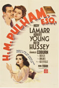 "Movie Posters:Drama, H.M. Pulham, Esq. (MGM, 1941). One Sheet (27"" X 41"") Style D...."