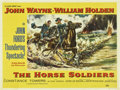 """Movie Posters:Western, The Horse Soldiers (United Artists, 1959). British Quad (30"""" X 40"""")...."""