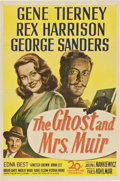 "Movie Posters:Romance, The Ghost and Mrs. Muir (20th Century Fox, 1947). One Sheet (27"" X41"")...."