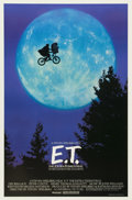 "Movie Posters:Science Fiction, E.T. The Extra-Terrestrial (Universal, 1982). One Sheet (27"" X40.5"") ""Bicycle"" Style...."