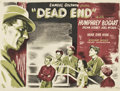"Movie Posters:Crime, Dead End (United Artists, R-1940s). British Quad (30"" X 40"")...."