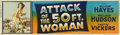 "Movie Posters:Science Fiction, Attack of the 50 Foot Woman (Allied Artists, 1958). Banner (24"" X82"")...."