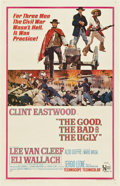 "Movie Posters:Western, The Good, The Bad and the Ugly (United Artists, 1968). One Sheet(27"" X 41"")...."