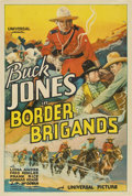 "Movie Posters:Western, Border Brigands (Universal, 1935). One Sheet (27"" X 41"")...."