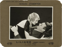 "Baby Face (Warner Brothers, 1933). French Lobby Card (11"" X 14"")"