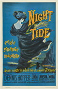 "Movie Posters:Horror, Night Tide (American International, 1961). One Sheet (27"" X 41"")Style B...."