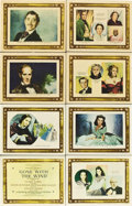 "Movie Posters:Academy Award Winner, Gone with the Wind (MGM, 1939). Roadshow Lobby Card Set of 8 (11"" X14"").... (Total: 8 Items)"