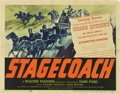 """Movie Posters:Western, Stagecoach (United Artists, 1939). Title Lobby Card (11"""" X 14"""")...."""