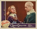 "Movie Posters:Drama, Queen Christina (MGM, 1933). Lobby Card (11"" X 14"")...."