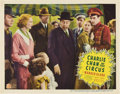 """Movie Posters:Mystery, Charlie Chan at the Circus (20th Century Fox, 1936). Lobby Card(11"""" X 14"""")...."""
