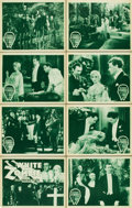 "Movie Posters:Horror, White Zombie (United Artists, R-1938). Lobby Card Set of 8 (11"" X14"").... (Total: 8 Items)"