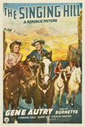 """Movie Posters:Western, The Singing Hill (Republic, 1941). One Sheet (27"""" X 41"""")...."""