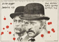 "Movie Posters:Western, Butch Cassidy and the Sundance Kid (20th Century, 1983). Polish One Sheet (37"" x 26.5"")...."