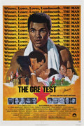 "Movie Posters:Sports, The Greatest (Columbia, 1977). Autographed One Sheet (27"" X 41"")...."