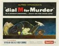 """Movie Posters:Hitchcock, Dial M For Murder (Warner Brothers, 1954). Half Sheet (22"""" X28"""")...."""