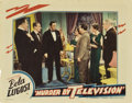 "Movie Posters:Horror, Murder By Television (Imperial-Cameo, 1935). Lobby Card (11"" X14"")...."