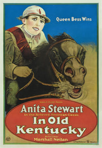 """In Old Kentucky (First National, 1919). One Sheet (27"""" X 41"""")"""