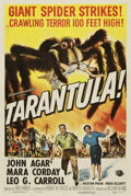 "Movie Posters:Science Fiction, Tarantula (Universal International, 1955). One Sheet (27"" X41"")...."