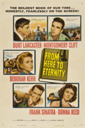 "Movie Posters:Academy Award Winner, From Here to Eternity (Columbia, 1953). One Sheet (27"" X 41"")...."
