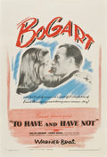 "Movie Posters:Romance, To Have and Have Not (Warner Brothers, 1944). One Sheet (27"" X41"")...."