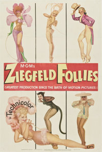 "Ziegfeld Follies (MGM, 1945). One Sheet (27"" X 41"") Style D"
