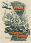 """Movie Posters:Science Fiction, The War of the Worlds (Paramount, 1953). French Petite (23"""" X31.5"""")...."""