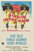 """Movie Posters:Musical, Singin' in the Rain (MGM, 1952). One Sheet (27"""" X 41"""")...."""