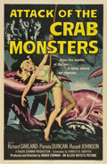 "Movie Posters:Science Fiction, Attack of the Crab Monsters (Allied Artists, 1957). One Sheet (27""X 41"")...."
