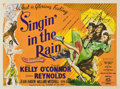 "Movie Posters:Musical, Singin' in the Rain (MGM, 1952). British Quad (30"" X 40"")...."