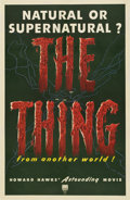 """Movie Posters:Science Fiction, The Thing From Another World (RKO, 1951). One Sheet (27"""" X 41"""")...."""