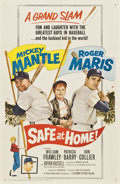 "Movie Posters:Sports, Safe at Home (Columbia, 1962). One Sheet (27"" X 41"")...."