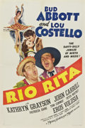 "Movie Posters:Comedy, Rio Rita (MGM, 1942). One Sheet (27"" X 41"") Style C...."