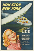 "Movie Posters:Mystery, Non-Stop New York (Gaumont, 1937). One Sheet (27"" X 41"")...."