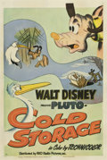 "Movie Posters:Animated, Cold Storage (RKO, 1951). One Sheet (27"" X 41"")...."