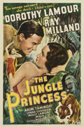 "Movie Posters:Adventure, The Jungle Princess (Paramount, R-1946). One Sheet (27"" X 41"")...."