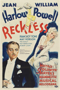 """Reckless (MGM, 1935). One Sheet (27"""" X 41"""") Style D"""