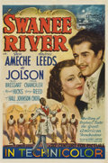 "Movie Posters:Musical, Swanee River (20th Century Fox, 1939). One Sheet (27"" X 41"") StyleA...."
