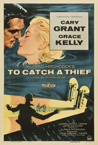 """To Catch a Thief (Paramount, 1955). One Sheet (27"""" X 41"""")"""