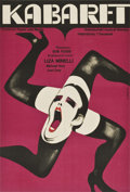 "Movie Posters:Musical, Cabaret (Allied Artists, 1972). Polish One Sheet (22.75"" X33.5"")...."