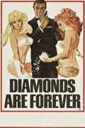 "Movie Posters:James Bond, Diamonds Are Forever (United Artists, 1971). British Double Crown(20"" X 30"") Advance...."