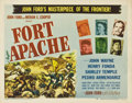 "Movie Posters:Western, Fort Apache (RKO, 1948). Half Sheet (22"" X 28"") Style A...."