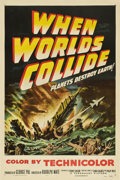 "Movie Posters:Science Fiction, When Worlds Collide (Paramount, 1951). One Sheet (27"" X 41"")...."