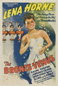 """Movie Posters:Black Films, The Bronze Venus (Toddy Pictures, R-1945). One Sheet (27"""" X 41"""")Originally released as The Duke is Tops (Million Dollar..."""