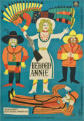 "Movie Posters:Musical, Annie Get Your Gun (MGM, 1950). Polish One Sheet (23"" X 33.5"")...."