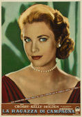 "Movie Posters:Drama, The Country Girl (Paramount, 1954). Italian Photobusta (19"" X27"")...."