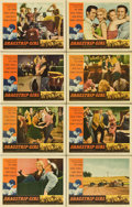"""Movie Posters:Bad Girl, Dragstrip Girl (American International, 1957). Lobby Card Set of 8 (11"""" X 14"""").... (Total: 8 Items)"""