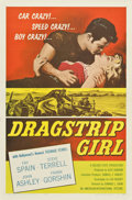 "Movie Posters:Bad Girl, Dragstrip Girl (American International, 1957). One Sheet (27"" X41"")...."