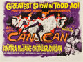 "Movie Posters:Musical, Can-Can (20th Century Fox, 1960). British Quad (30"" X 40"")....(Total: 2 Items)"