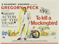 "Movie Posters:Drama, To Kill a Mockingbird (Universal International, 1963). British Quad(30"" X 40"")...."